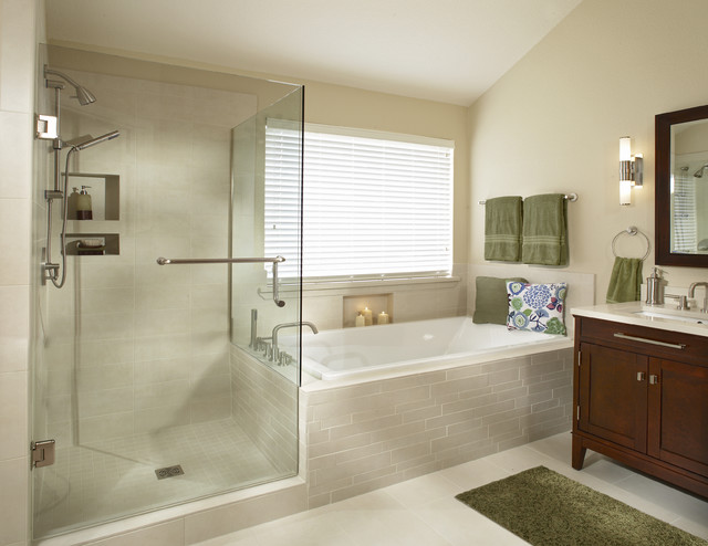 Southlake Texas Bathroom Remodel Transitional Bathroom Dallas By Usi Design Remodeling
