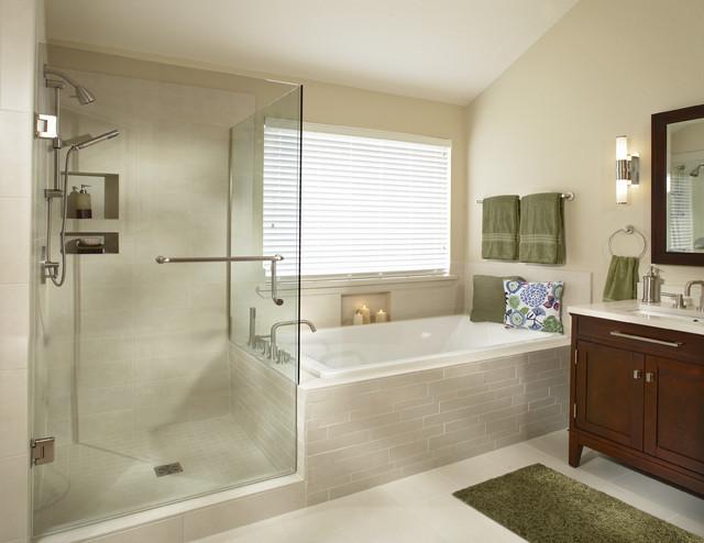 Southlake Texas bathroom remodel transitional-bathroom