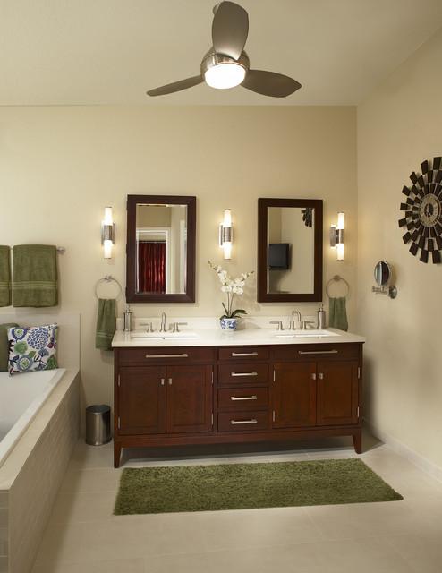 Southlake Texas Bathroom Remodel Contemporary Bathroom Dallas By Usi Design Remodeling