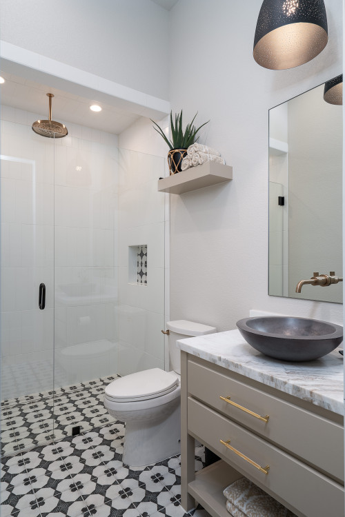 Houzz: Bathrooms With Stylish Walk-In Showers