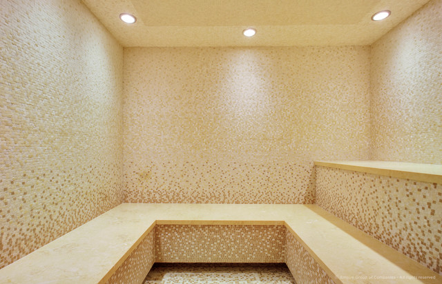 Southwest Calgary | New Home | Steam Room - Traditional ...