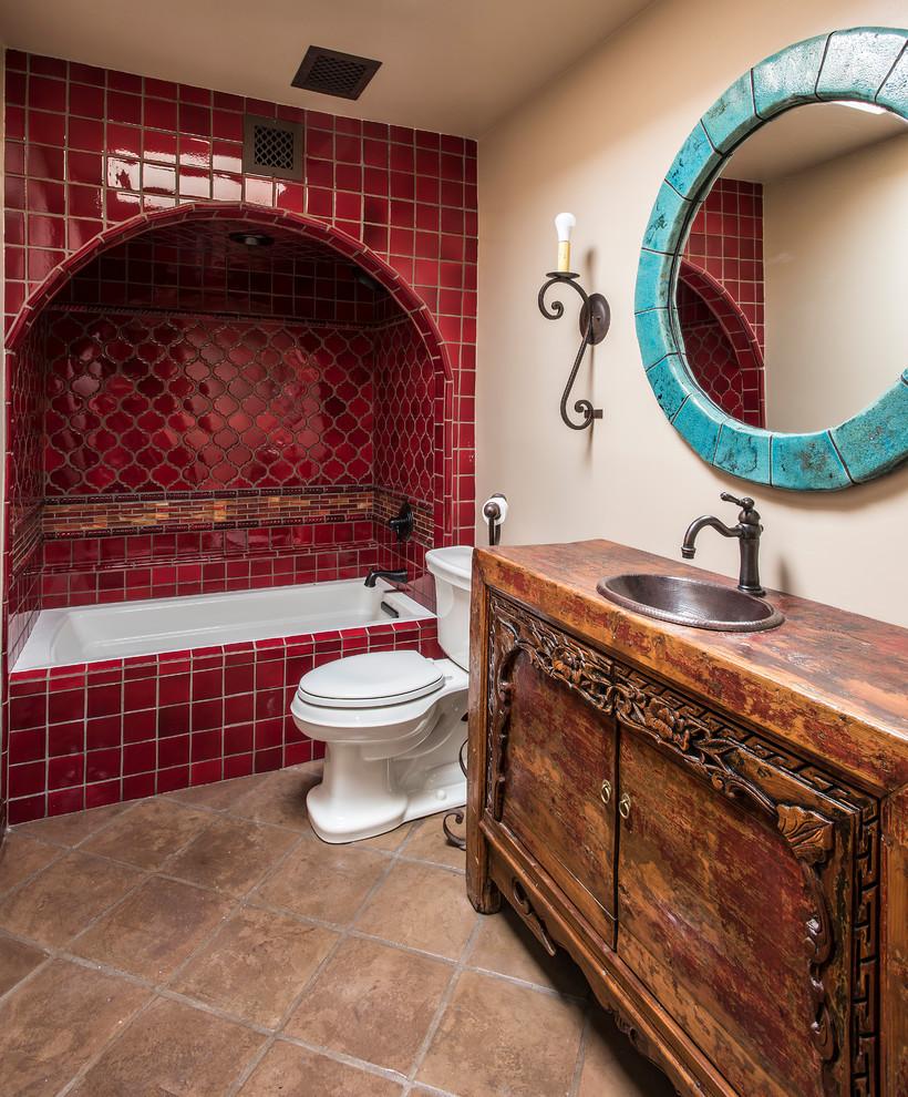 Southwest Classic - Southwestern - Bathroom - Phoenix - by ...