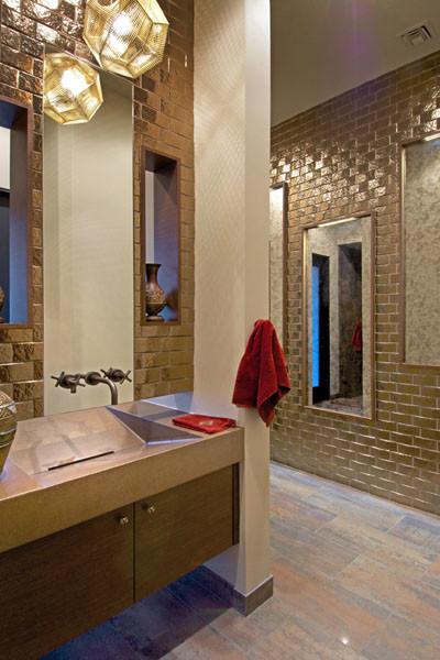 Southwest contemporary 781 southwestern bathroom for Southwest bathroom designs