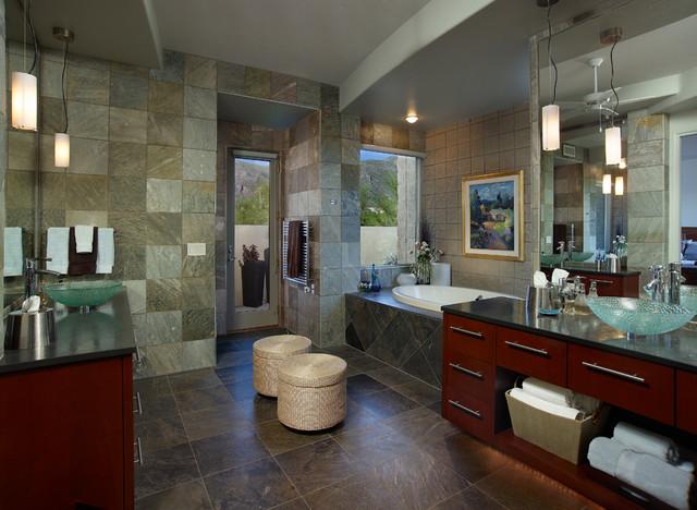 Southwest Contemporary Contemporary Bathroom Phoenix