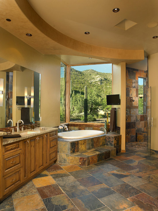 Southwestern Bath Design Ideas Pictures Remodel Decor