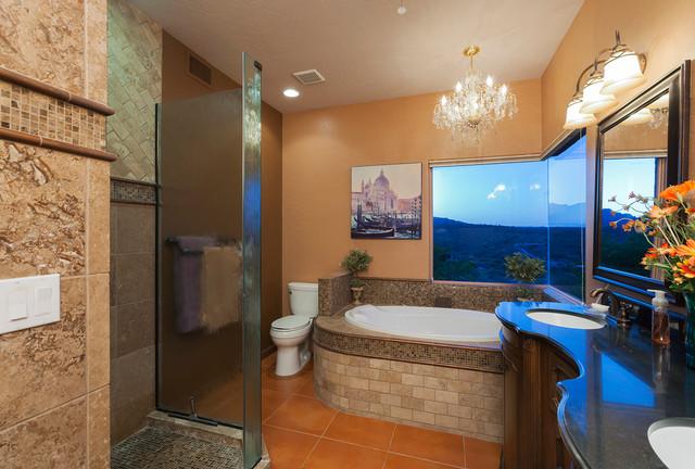 Southwest master bathroom southwestern bathroom for Southwest bathroom designs