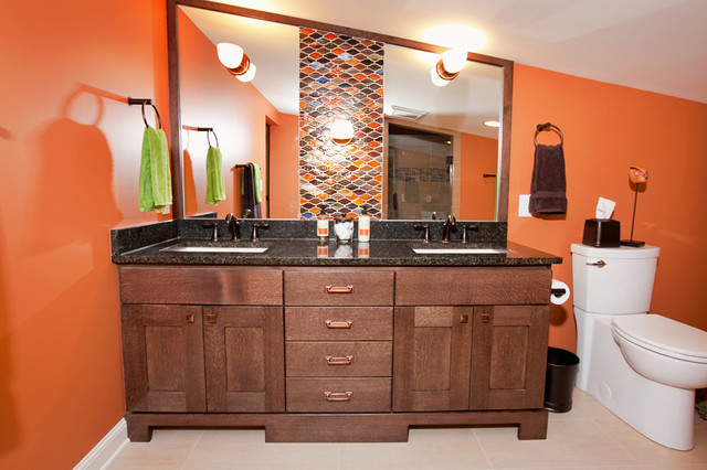 Southwest Minneapolis: Master Suite Addition eclectic-bathroom