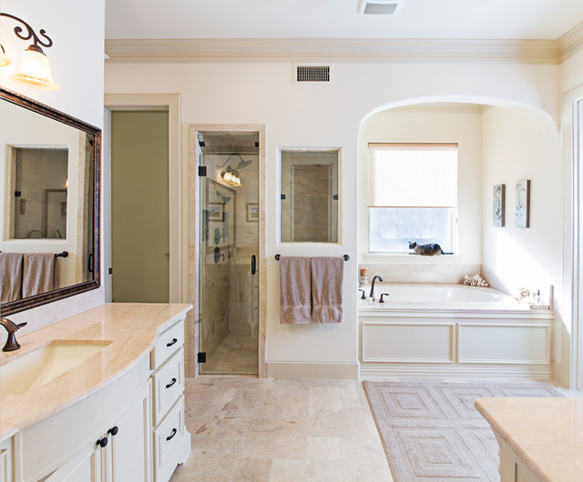 Southwestern traditional bathroom dallas by Southwestern style bathroom vanities