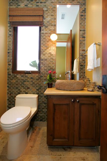 Southwestern contemporary for San diego bathroom designs