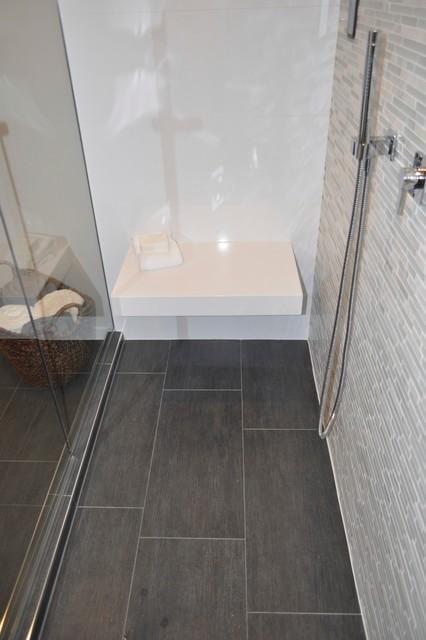 Spa basement bathroom contemporary-bathroom