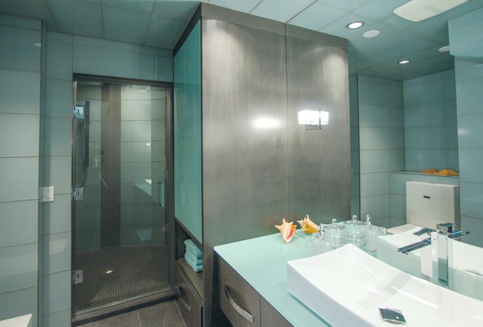 Spa Bathroom in Patterson Calgary - Contemporary ...