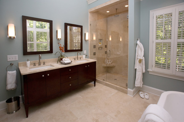 Spa Bathroom Traditional Bathroom Charlotte By Loftus Design Llc