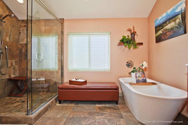Spa Bathroom Rancho Bernardo contemporary-bathroom