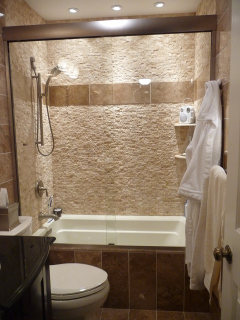 Spa Bathroom Remodel Contemporary