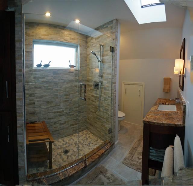 Bathroom Remodel Greenwood In: Spa Bathroom Retreat