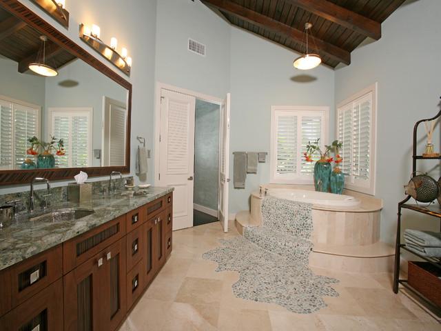 Spa contemporary-bathroom