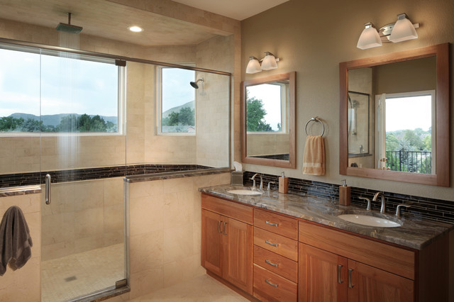 Spa Experience  Golden, CO Master Bath  Transitional  Bathroom
