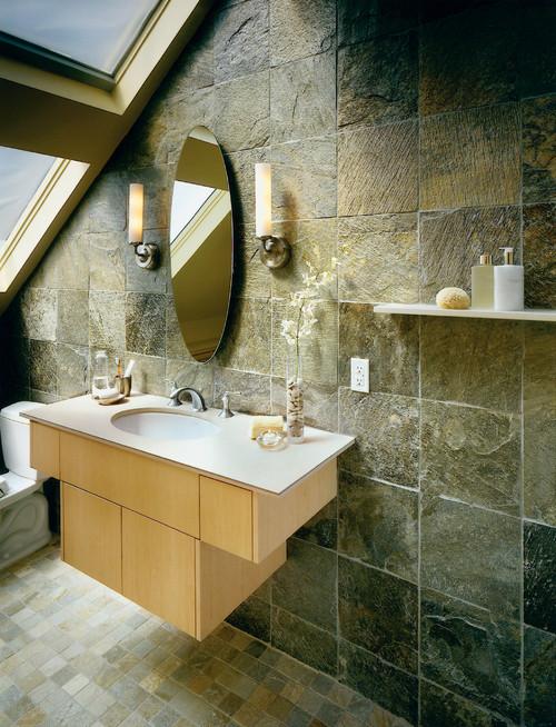 Spa in the Sky asian bathroom