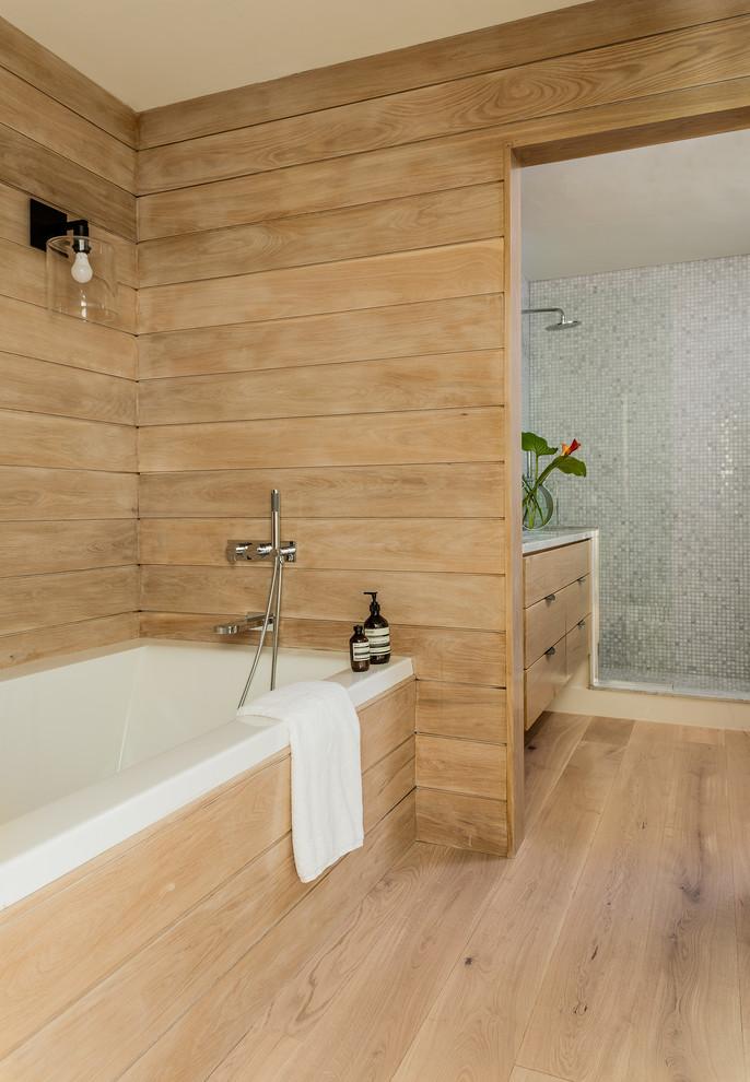 Contemporary Jamaica Plain Condo - Contemporary - Bathroom ...