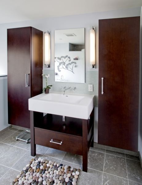 Spa inspired master bath contemporary bathroom for Spa inspired bathroom designs