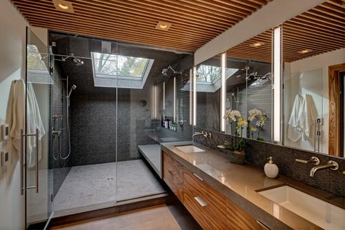 ไอเดียห้องน้ำ 07 Spa-Inspired Modern Bath