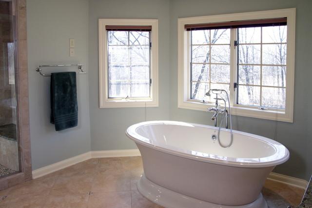 Spa Like Bathroom Remodel Traditional Bathroom