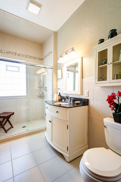 Spa like bathroom remodel traditional bathroom for Bathroom remodel milwaukee