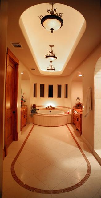 Spa like Master Bath mediterranean-bathroom