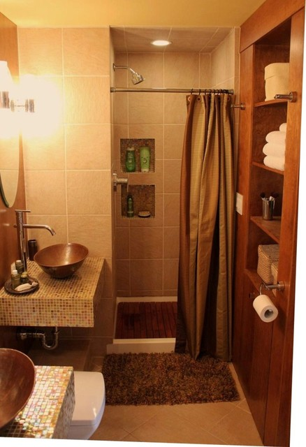 Spa Like Master Bathroom Asian Bathroom Boston By