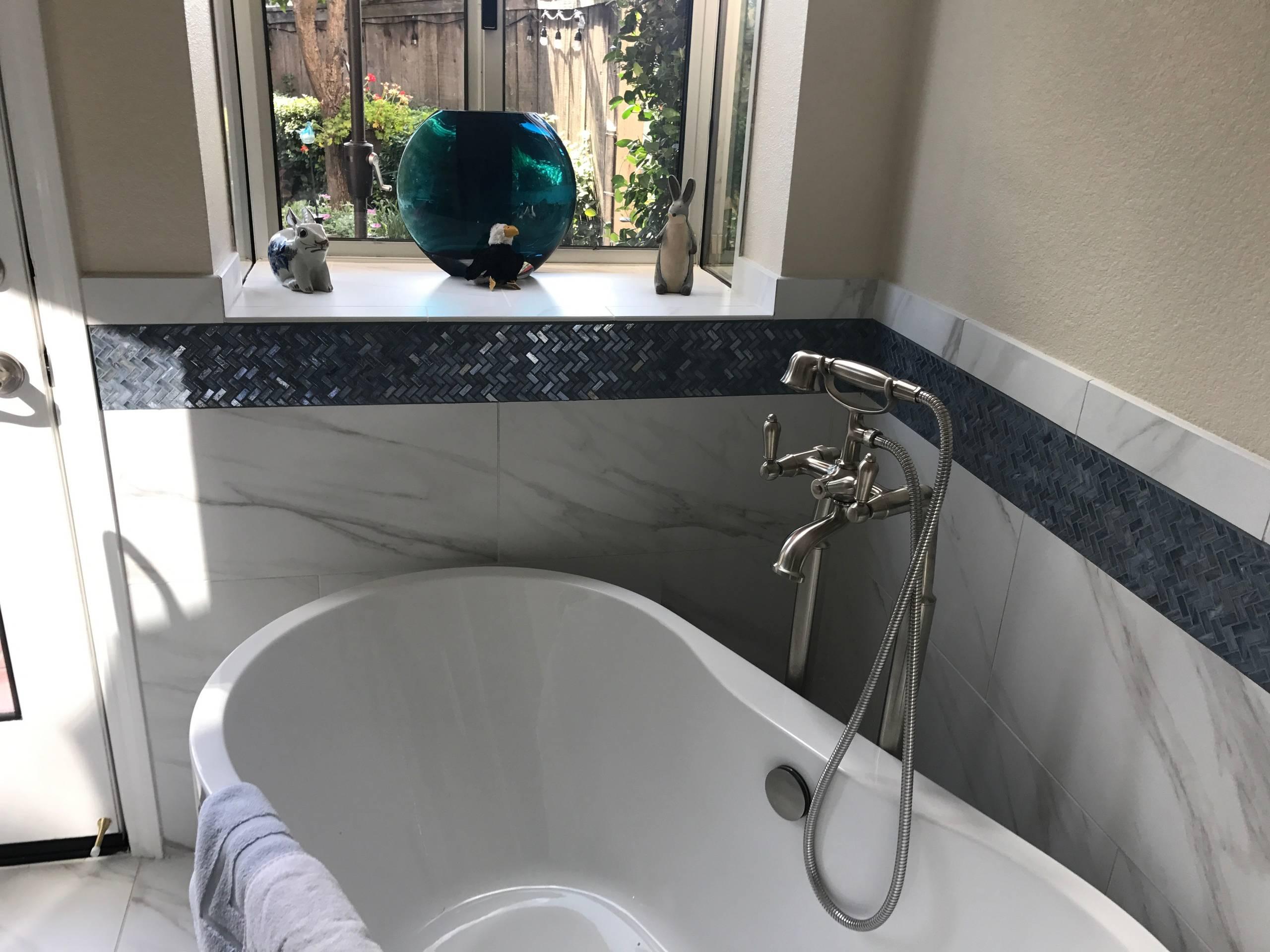 Spa Like Master Bathroom -Stockton, CA