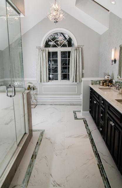 Spa master bath retreat traditional bathroom boston for Spa retreat bathroom ideas