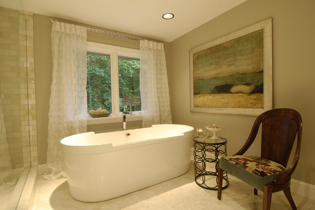 Spa Master Bathroom contemporary-bathroom