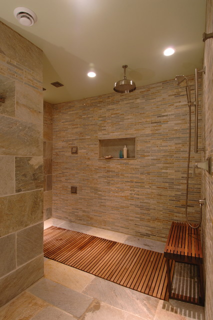 Spa oasis contemporary bathroom other metro by for Small bathroom oasis