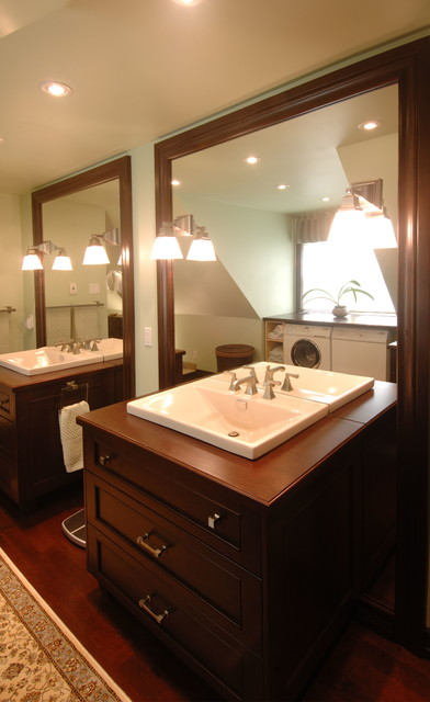 Luxury Oasis Master Bathroom traditional-bathroom