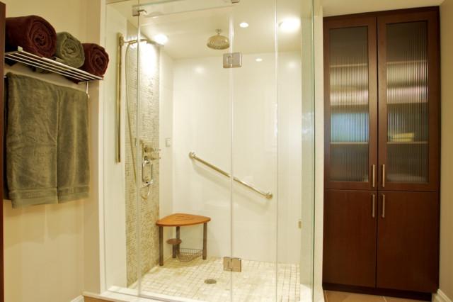 Spa retreat traditional bathroom toronto by andros for Spa retreat bathroom ideas