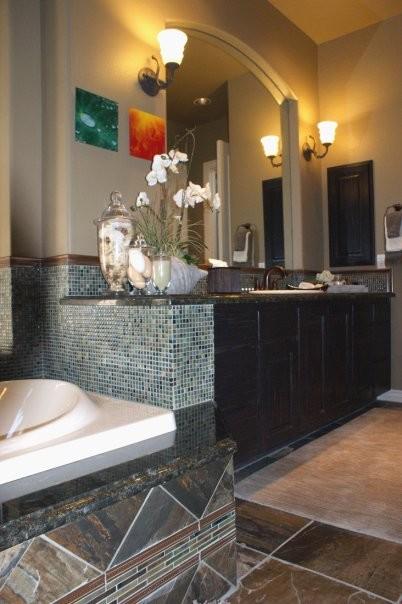 Spa retreat bathroom contemporary bathroom phoenix for Spa retreat bathroom ideas