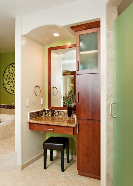 Spa Retreat Bath Remodel - Long Beach CA transitional-bathroom
