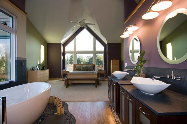 Spa retreat asian bathroom grand rapids by for Spa retreat bathroom ideas