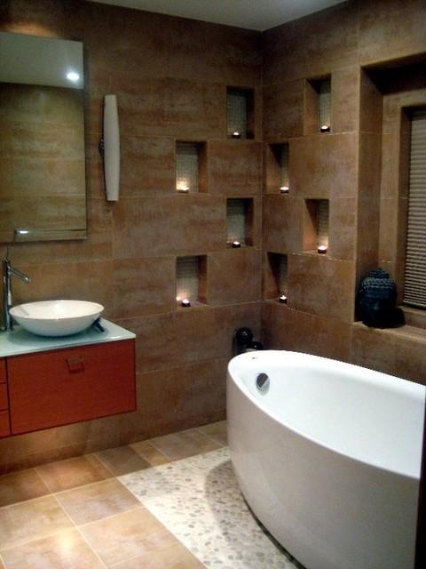 Spa Retreat modern-bathroom