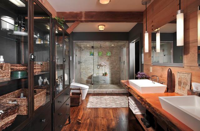 Spa Retreat Master Bath Contemporary Bathroom