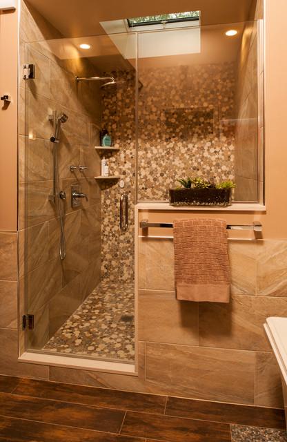 Spa Zen Bathroom Design Asian Bathroom New York By