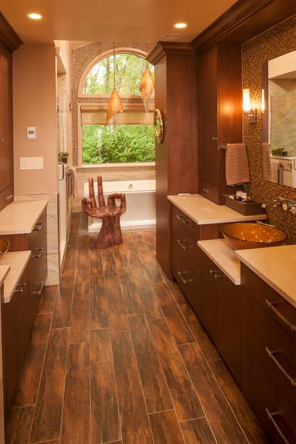 Spa zen bathroom design for Zen spa bathroom designs