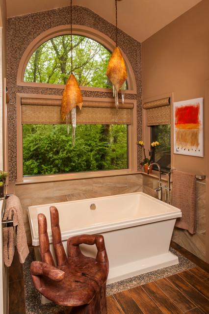 Spa zen bathroom design asian bathroom new york by for A zen salon colorado springs