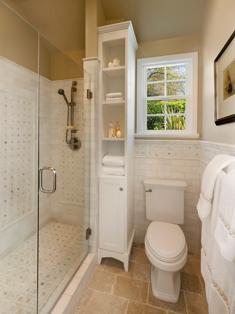 Space saving traditional bathroom traditional bathroom - Bathroom ideas photo gallery small spaces ...