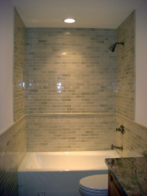 Spaces and Installations with Pratt & Larson contemporary-bathroom