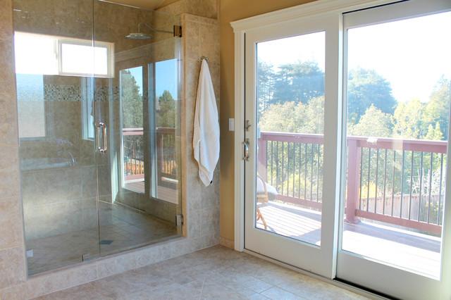 Spacious Bathroom In The Santa Cruz Hills Contemporary Bathroom San Francisco By Santa