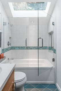 Spacious Small Bathrooms Remodel in a Berkeley Cottage ...