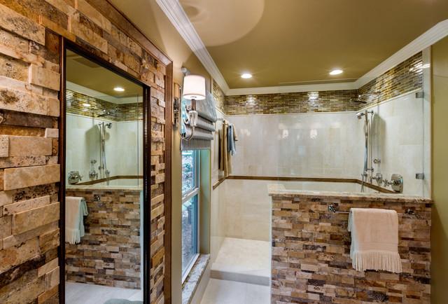 Spacious Traditional Master Bath Traditional bathroom