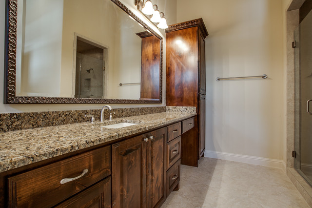 Spanish Inspiration - Mediterranean - Bathroom - austin - by Bella Vita Custom Homes & Remodeling