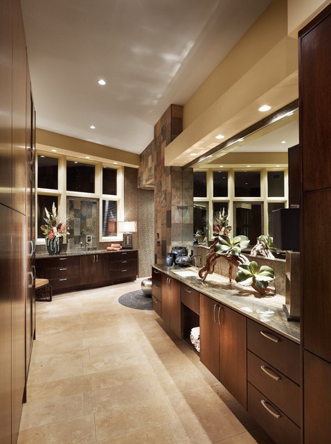 Spanish Oaks Spa Bath contemporary bathroom